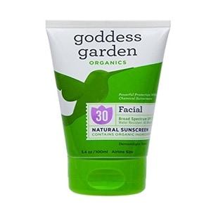 Goddess Garden Facial Broad Spectrum Natural Sunscreen SPF 30