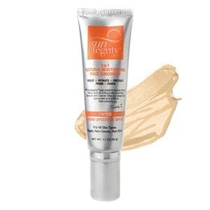 Suntegrity Skincare 5 in 1 Natural Moisturizing Face Sunscreen, SPF 30