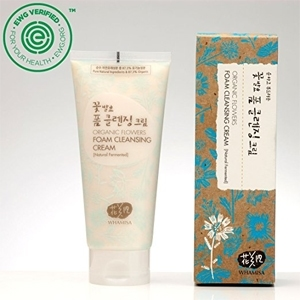 Whamisa Organic Flowers Foam Cleansing