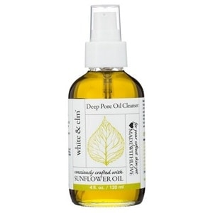 White & Elm Sunflower Deep Pore Cleansing Oil